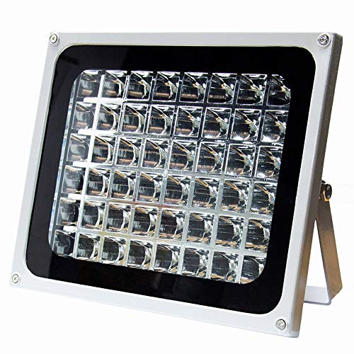 BAOSHISHAN UV Glue Curing Lamp High Power 48W LED Ultraviolet Light 365nm Black Light Fixtures for Curing Resin Paint Clear Coat Phone Repair Gel Nails 3D Printer (48W)