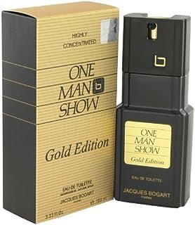 One Man Show Gold By Jacques Bogart Eau De Toilette Spray 3.3 Oz -Men-