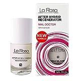 La Rosa nail medic regenerador after tips suero regenerador para uñas, metionina, proteína de soja - 10 ml