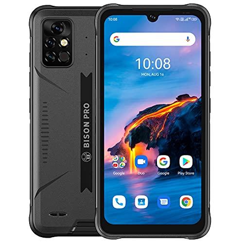 UMIDIGI Bison Pro Outdoor Smartphone, 8G+128GB Dual SIM Android 11, Outdoor Handy mit Helio G80 48MP Kamera NFC 5000mAh Akku Global Version 6.3