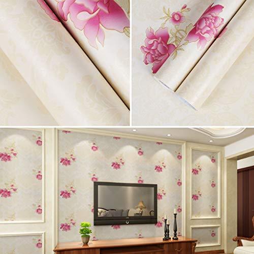 SJW Behang, PVC Waterdicht Vochtdicht Zelfklevende Slaapkamer Woonmeubilair Garderobe Refurbishment