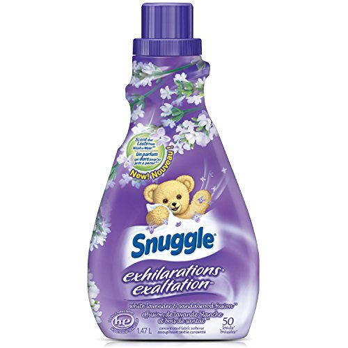 Snuggle Exhilarations Liquid Fabric Softener, Lavender & Vanilla Orchid, 50 Fluid Ounces