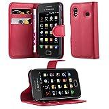 Cadorabo Coque pour Samsung Galaxy ACE 1 en Rouge Cerise – Housse Protection avec...
