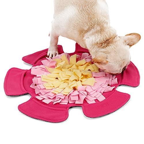 Schnüffelteppich Hund Snuffle Mat,Sniffing Mat Futtermatte Katzen Groß Schnüffeldecke Hund Schnüffelrasen Schadstofffreies Hundespielzeug Schnupftabakmatte Fütterungsmatte für Hunde Schnüffelspielzeug