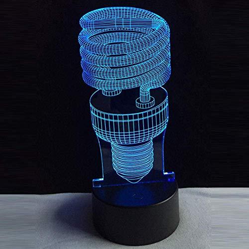 Luces De Sinfonía 3D Luz De Noche Led El Sueño De Los Niños Día Único Para Niños 16 Cambio De Color Intermitente Lámpara De Mesa Usb Decoración Del Hogar Juguetes Para Niños