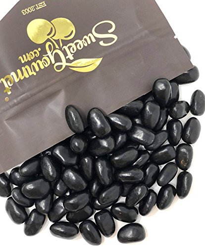 Black Jelly Beans Eggs - Licorice Flavor jelly beans bulk candy 2 pounds