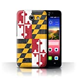 Stuff4® Hülle/Case für Huawei Ascend Y550 LTE/Maryland