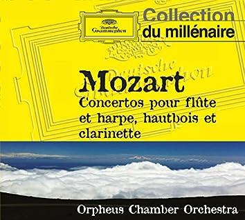 Mozart : Concertos pour flute et harpe, hautbois et clarinette