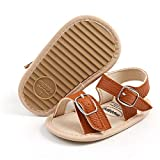 Baby Girls Boys Summer Sandals Infant Non-Slip Soft Rubber Sole Outdoor Shoes for Toddler First Walkers