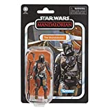 Star Wars The Vintage Collection The Mandalorian Toy, 9.5-cm-Scale Action Figure, Toys for Children Aged 4 and Up