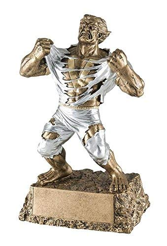 Large Monster Victory Trophy | 9.5 Inch Tall | Large Beast Victor Award,gold, silver
