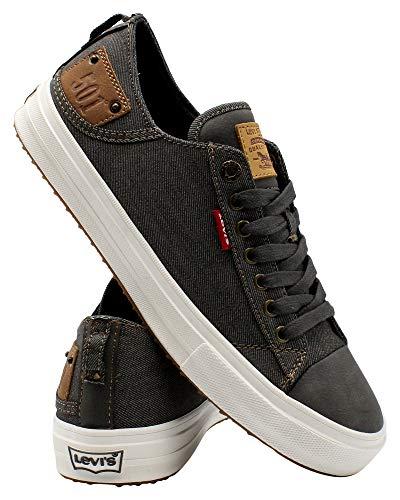 Levi's Shoes Neil LO 501 DNM UL NB Charcoal/Tan 10.5