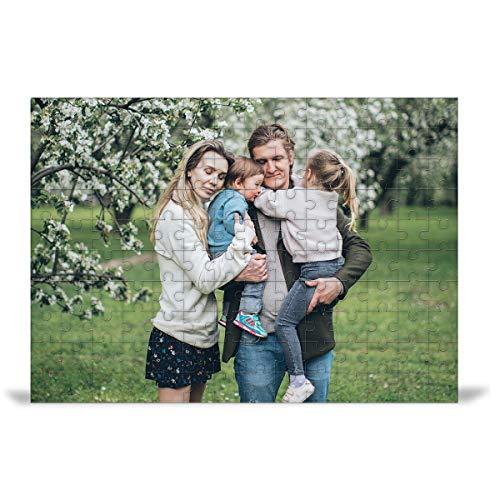Gifty Lab Puzzle Fotografico Rettangolare Personalizzato con Foto - Rettangolare, (20x30 cm.) 180 Pezzi
