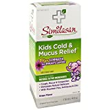 Similasan Kids Cold & Mucus Relief Syrup Plus Echinacea 4 oz