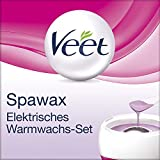 Veet Spawax elektrisches Warmwachs Set