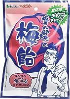 塩こん部長の飴 50g (梅, 5個セット)