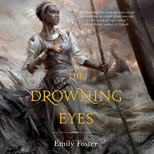 The Drowning Eyes audiobook cover art