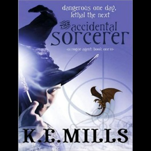 The Accidental Sorcerer  audiobook cover art