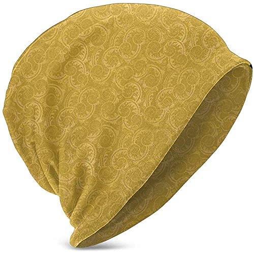 Beanie Baggy Skull Hat, silhouet wervelt en laat achtergrond doorlopende elementen, unisex teeen verschillende gebreide muts stijlen