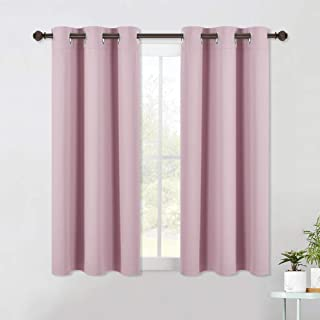 NICETOWN Blackout Draperies Curtains for Girls Room, Nursery Essential Thermal Insulated..