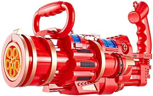 LUBINGT Bubble Machine New Toy Kids Gatling Bubble Gun Toys Summ
