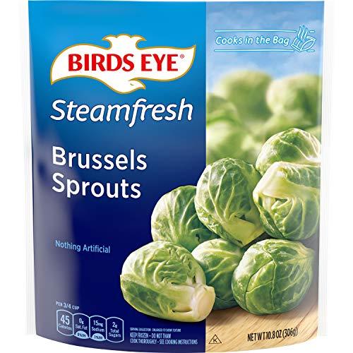 Birds Eye Steamfresh Brussels Sprouts, Keto Friendly Frozen Vegetable, 10.8 OZ