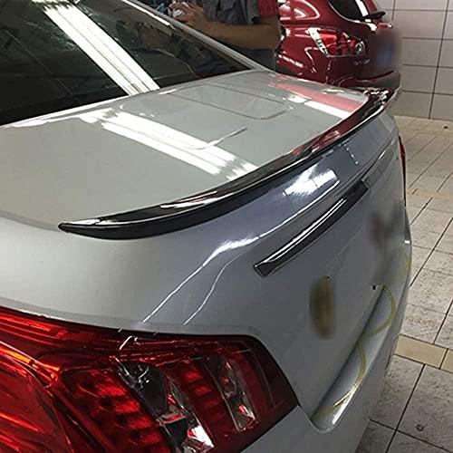 ZQADTU Alerón Trasero de Coche ABS para Peugeot 508 2011-2015, decoración de la Cola, Accesorios de modificación del alerón de la Tapa del Maletero, Duradero y Hermoso