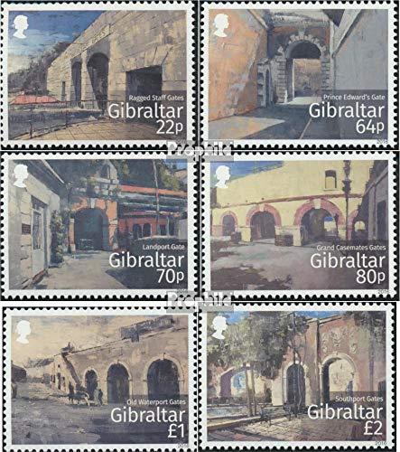 Prophila Collection Gibraltar 1735-1740 (kompl.Ausg.) 2016 Historische Tore in Gibraltar (Briefmarken für Sammler)