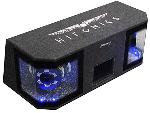 Hifonics MR8DUAL Pre-Loaded Subwoofer 600W Subwoofer Auto Subwoofer (Pre-Loaded Subwoofer, 600W, 1200W, 145dB, 20cm Bandpass)