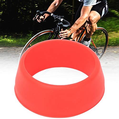 FOLOSAFENAR Resistente a la corrosión 10PCS O Ring Tija de sillín de Bicicleta Tija de sillín Anti Barro Cubierta Impermeable Decorativa para Bicicleta(Red)