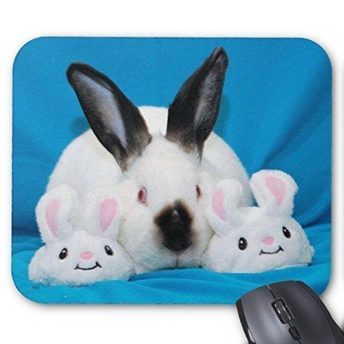 Goobull Lovely Kaninchen Mousepad Serie Bunny Hausschuhe Maus Pad Bunny Kaninchen Maus Pad Rechteck Mousepads