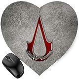 vbcnfgdntdy Assassins Creed Logo (Heart-Shaped) Mouse Pad