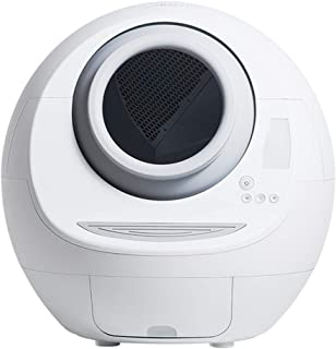 Automatic Litter Box Garbage Robot Silent Deodorant Pet Toilet Night Light Environmental Protection Material Disinfection