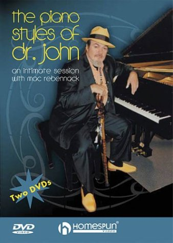 Price comparison product image The Piano Styles of Dr. John - 2-DVD Set DVD