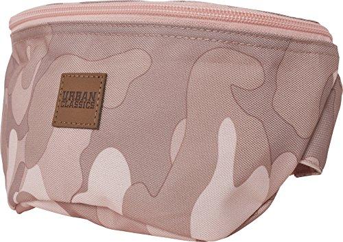 Urban Classics Hip Bag Umhängetasche, 24 cm, Rose Camo