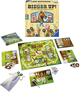 Ravensburger Bidder up the Game of Bargaining, Bidding and Bluffing Family