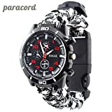 Montre Paracorde de Survie 6 en 1