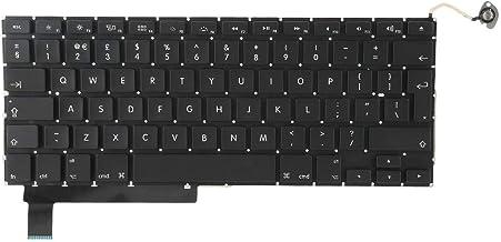 Hopcd Teclado para computadora portátil para Macbook, Teclado de Repuesto para computadora portátil Reino Unido Diseño par...