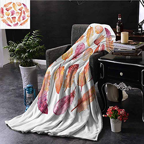 GGACEN bont gooien deken Vintage Retro Polar Bear Label met Bold Stripes Artwork Afbeelding Microvezel deken bank of reizen