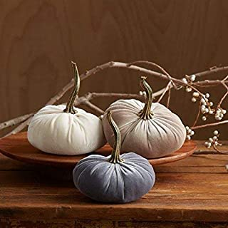 Best fabric pumpkins with real stems Reviews