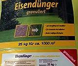 Eisendünger granuliert 25 Kg Neu, optimierte...