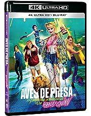 Aves de Presa (y la Fantabulosa Emancipación de Harley Quinn) UHD 4K (UHD 4K + Blu Ray) [Blu-ray]