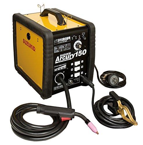 スター電器製造(SUZUKID)ノンガス100V/200V兼用 半自動溶接機 アーキュリー150N SAY-150N