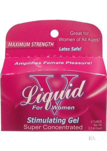 Liquid V For Women - 3pk Tubes by Body Action