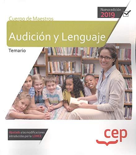 Cuerpo de maestros audicion y lenguaje temario