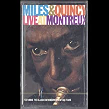 Miles Davis & Quincy Jones: Live At Montreux Cassette M Canada Warner Bros.