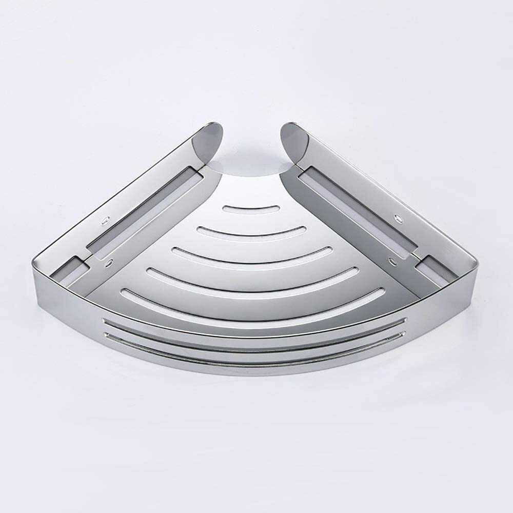 Jabetc Bathroom Shelf Modern Outlet ☆ We OFFer at cheap prices Free Shipping Silver Caddy Steel Stainless Shower