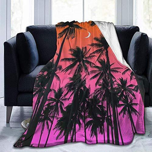 DWgatan Manta,Copriletto Blanke in Pile Super caldoCálidos Sentimientos Que arrojan una Manta cálida Suave y Elegante para Padres Adultos y niños en el sofá Cama Adecuado para -60'x50