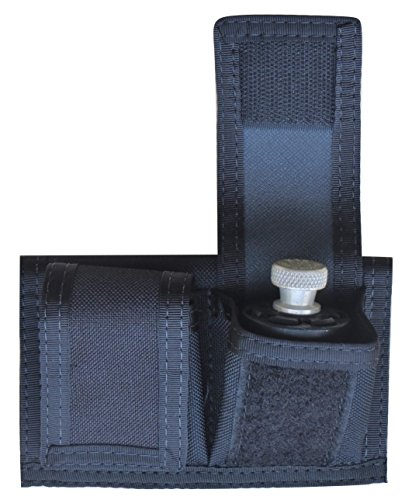 American Made Double Speedloader Belt Pouch - Universal Fit 22 Mag Thru 44 Mag
