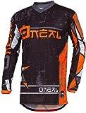 Oneal ELEMENT JERSEY Équipement pour vélo et motocross, L, orange